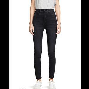 Denim - Rag & bone Jane super high rise jeans 26